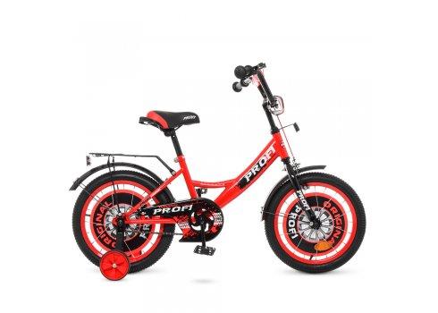 Детский двухколесный велосипед Profi Original boy 16 дюймов Y1646 красно-черный