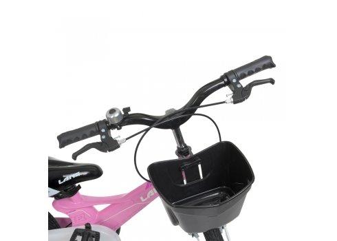 Детский двухколесный велосипед 16 дюймов Profi Hunter WLN1650D-2N розовый