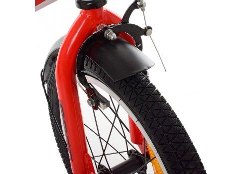 Детский двухколесный велосипед Profi Inspirer 16 дюймов SY1655 черно-бело-красный (матовый)