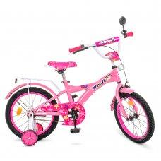 Детский двухколесный велосипед Profi Original girl 16 дюймов T1661 розовый