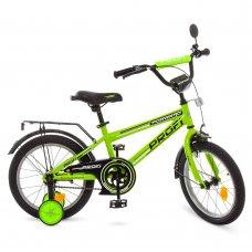 Детский двухколесный велосипед Profi Forward 16 дюймов T1672 салатовый