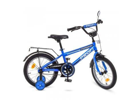 Детский двухколесный велосипед Profi Forward 16 дюймов T1673 синий