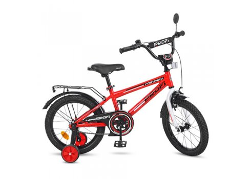 Детский двухколесный велосипед Profi Forward 16 дюймов T1675 красный