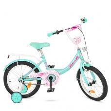Детский двухколесный велосипед Profi Princess 16 дюймов Y1612 мята