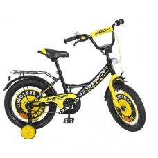 Детский двухколесный велосипед Profi Original boy 16 дюймов Y1643 черный
