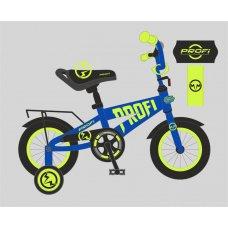 Детский двухколесный велосипед Flash Profi 18 дюймов, T18175 синий