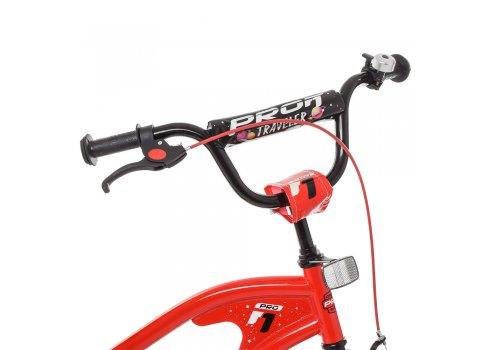 Детский двухколесный велосипед Profi Traveler 18 дюймов Y18181 красный