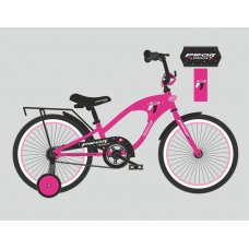 Детский двухколесный велосипед Profi Traveler 18 дюймов, Y18183 малиновый
