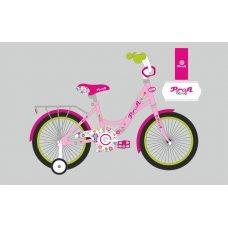 Детский двухколесный велосипед Profi Bloom 18 дюймов, Y1821-1 розовый