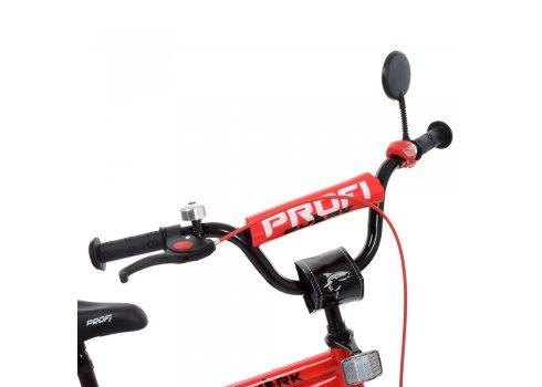 Детский двухколесный велосипед 18 дюймов PROFI Shark Y18211-1 красно-черный