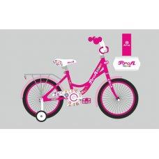 Детский двухколесный велосипед Profi Bloom 18 дюймов, Y1823-1 малиновый