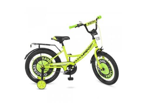 Детский двухколесный велосипед Profi Original boy 18 дюймов, Y1842 салатовый