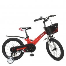 Детский двухколесный велосипед 18 дюймов PROFI Hunter WLN1850D-3 красный