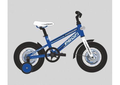 Детский двухколесный велосипед Forward Profi 18 дюймов, T1873 синий