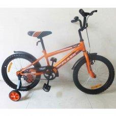 Детский двухколесный велосипед Tilly Flash 18 дюймов, T-21844 orange