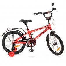 Детский двухколесный велосипед Forward Profi 18 дюймов, T1875 красный