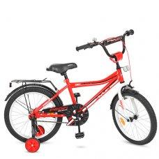 Детский двухколесный велосипед Profi Top Grade 18 дюймов Y18105 красный