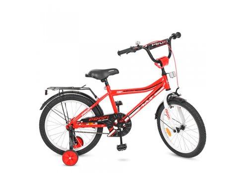 Детский двухколесный велосипед Top Grade Profi 18 дюймов, Y18105 красный