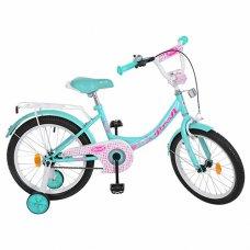 Детский двухколесный велосипед Princess Profi 18 дюймов, Y1812 мята