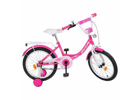 Детский двухколесный велосипед Princess Profi 18 дюймов, Y1813 малиновый