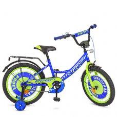 Детский двухколесный велосипед Original boy Profi 18 дюймов, Y1841 синий