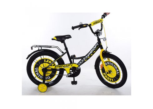 Детский двухколесный велосипед Original boy 18 дюймов, Y1843 черный