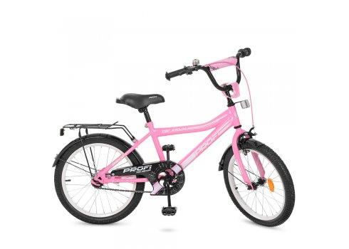 Детский двухколесный велосипед Top Grade Profi 20 дюймов, Y20106 розовый