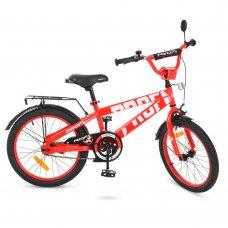 Детский двухколесный велосипед Profi Flash 20 дюймов, T20171 красный