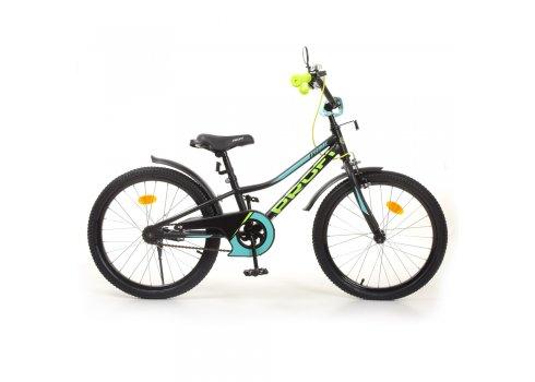 Детский двухколесный велосипед 20 дюймов PROFI Prime Y20224-1 черный