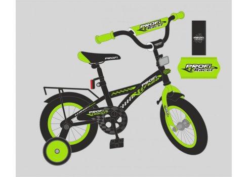 Детский двухколесный велосипед Profi Racer 20 дюймов, T2037 черно-зеленый