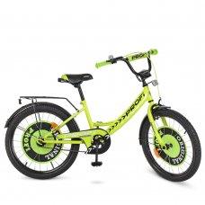 Детский двухколесный велосипед Original boy Profi 20 дюймов,  Y2042 салатовый