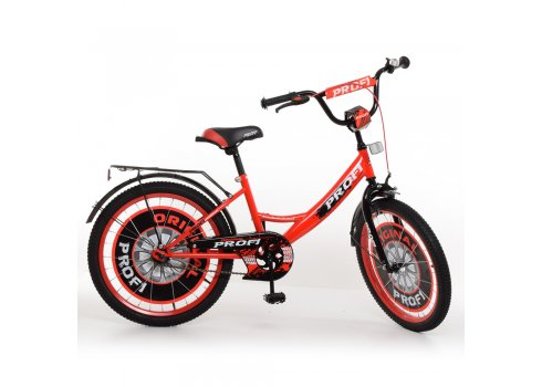 Детский двухколесный велосипед Profi Original boy 20 дюймов, Y2046 красно-черный