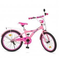 Детский двухколесный велосипед Profi Original girl 20 дюймов T2061 розовый