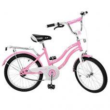 Детский двухколесный велосипед Star Profi 20 дюймов, L2091 розовый