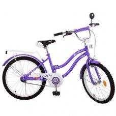 Детский двухколесный велосипед Star Profi 20 дюймов, L2093 фиолетовый