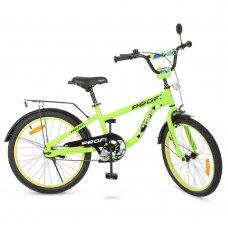 Детский двухколесный велосипед Space Profi 20 дюймов, T20153 салатовый