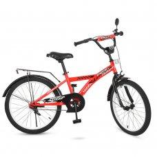 Детский двухколесный велосипед Racer Profi 20 дюймов, T2031 красный