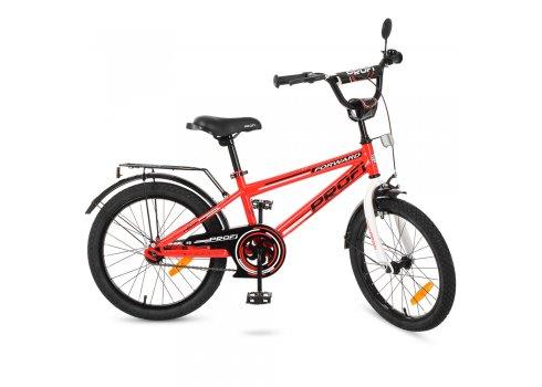Детский двухколесный велосипед Forward Profi 20 дюймов, T2075 красный