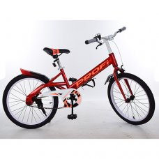 Детский двухколесный велосипед Original Profi 20 дюймов, W20115-1 красный