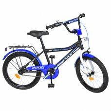 Детский двухколесный велосипед Top Grade Profi 20 дюймов, Y20101 черный