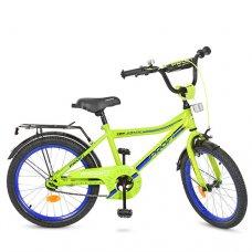 Детский двухколесный велосипед Top Grade Profi 20 дюймов, Y20102 салатовый