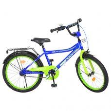 Детский двухколесный велосипед Top Grade Profi 20 дюймов, Y20103 синий