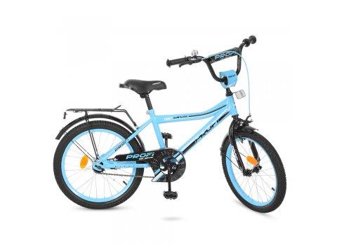 Детский двухколесный велосипед Top Grade Profi 20 дюймов, Y20104 бирюзовый