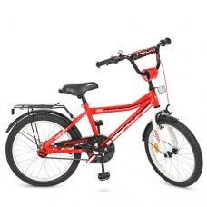 Детский двухколесный велосипед Top Grade Profi 20 дюймов, Y20105 красный