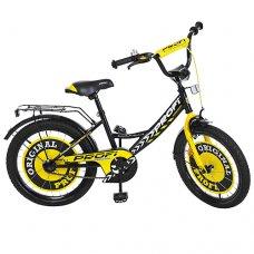 Детский двухколесный велосипед Original boy Profi 20 дюймов, Y2043 черный