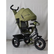 Трехколесный велосипед Crosser one T1 хаки на надувных колесах