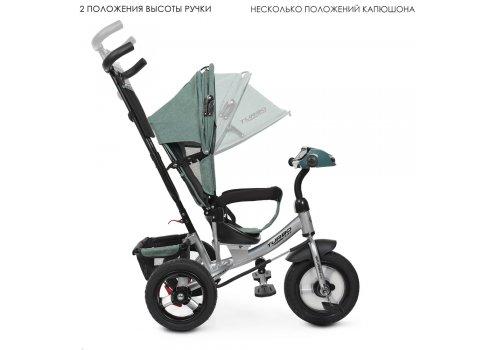 Трехколесный велосипед с фарой TURBOTRIKE M 3115HA-17L хаки