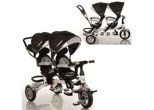 Двухместный трехколесный велосипед на надувных колесах, Turbotrike DUOS M 3116TW-3A