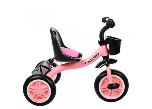 Трехколесный велосипед на EVA колесах, Turbotrike M 3197-M-1 нежно-розовый и мята