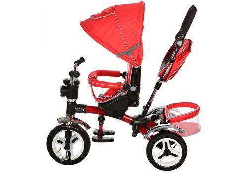 Трехколесный велосипед с поворотным сиденьем, M 3199-3HA красный